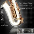 Elite Luxus V Alto Saxophone – Silver Satin & Gold