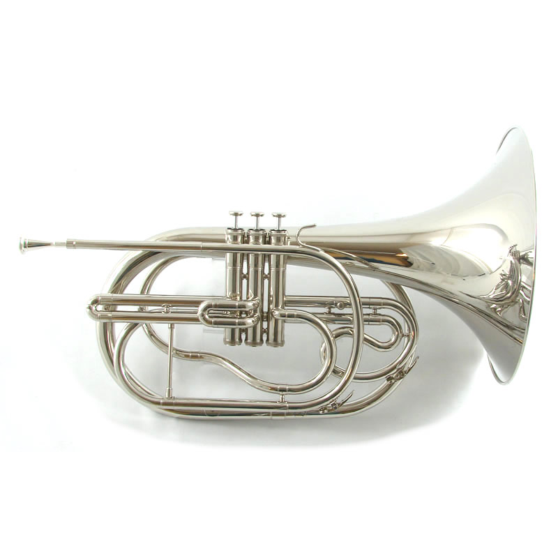 Field Series Marching French Horn Bell Front
