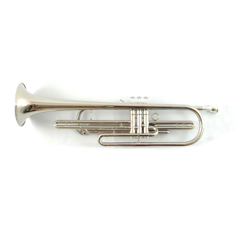 American Heritage Bass Trumpet – Nickel Plated