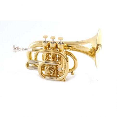 Center Tone C Pocket Trumpet
