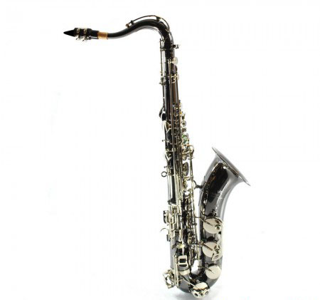 Elite V Pro Artist Tenor Saxophone – Black Nickel-Silver