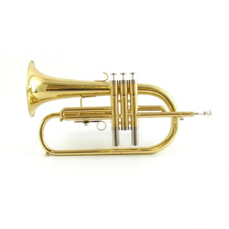 Center Tone Flugelhorn – Gold Brass
