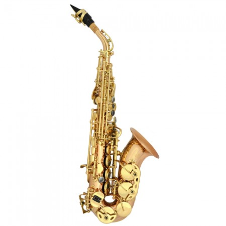American Heritage Concert Series Curved Soprano Saxophone – Rose Brass