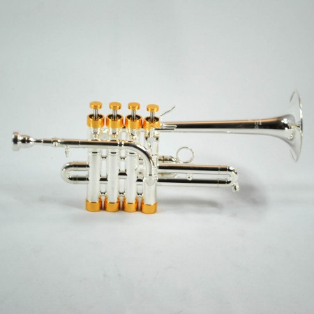 Center Tone Piccolo Trumpet – Silver & Gold
