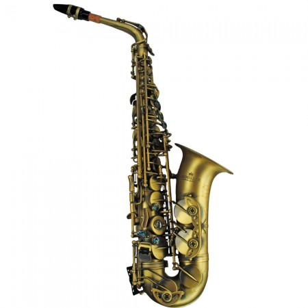 Elite V Luxus Vintage Alto Saxophone – Antique Gold