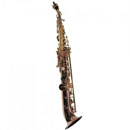 Elite V Semi-Curved Soprano Saxophone – Rose & Gold