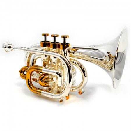 Center Tone Pocket Bb Trumpet – Silver & Gold Plated
