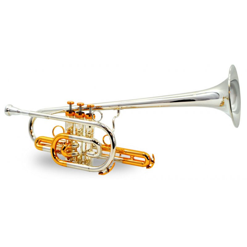 American Heritage BandLeader 45 Trumpet – Silver & Gold – Bb