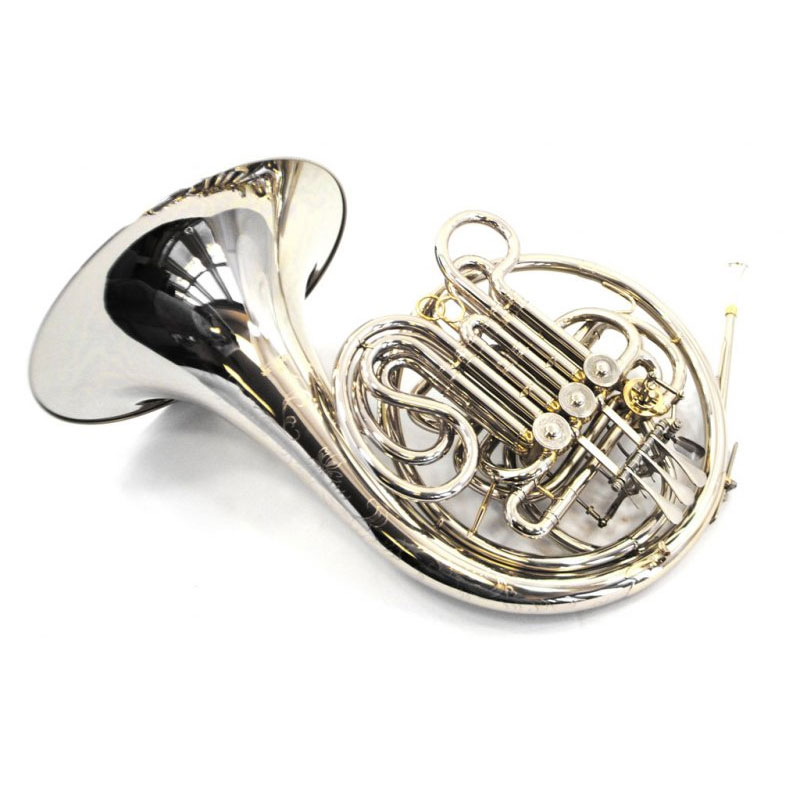 American Elite VI French Horn – Nickel Plated