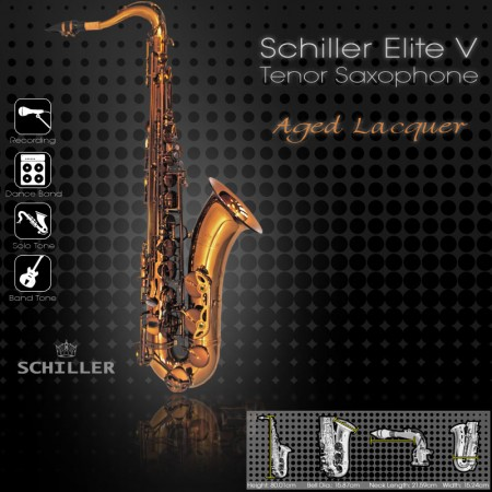 Elite V Tenor Saxophone – Aged Gold Lacquer
