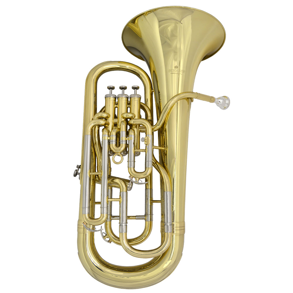 Elite IV Compensating Euphonium – Gold