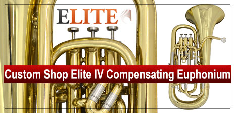 Custom Shop Elite IV Compensating Euphonium Gold