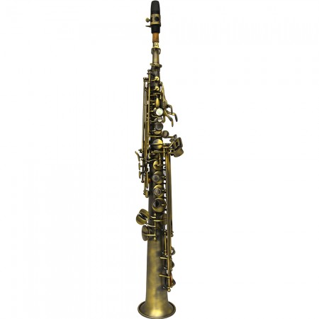 Elite V Soprano Saxophone – Aged Bronze Finish