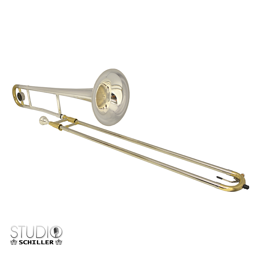 Studio 525 Trombone Silver Plated & Gold