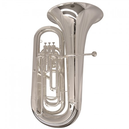 Schiller Elite Compensating Tuba BBb – Silver Plated