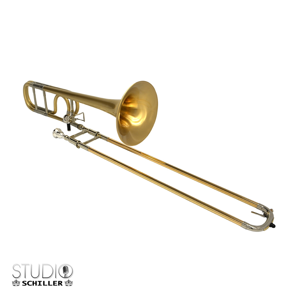Studio 547 Trombone – Satin Gold Bell & Body