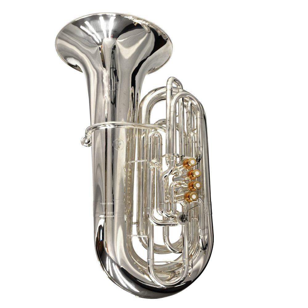 Elite CC Tuba – Silver Plated & Gold