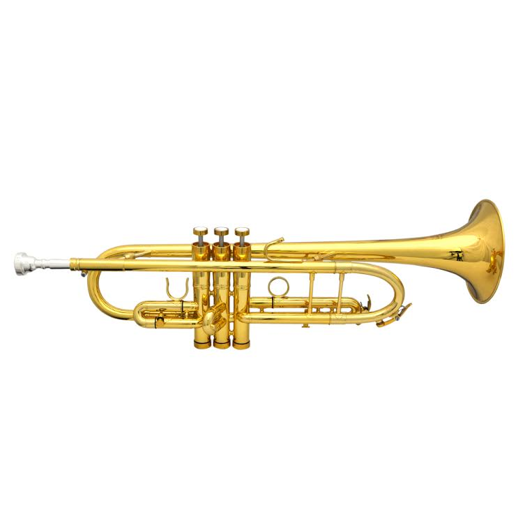 Elite Frankfurt Custom Trumpet – Gold Plated
