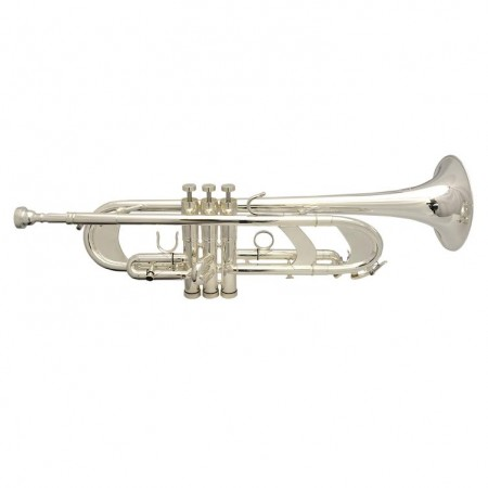 Frankfurt Elite Custom Silver Plated Flash Trumpet