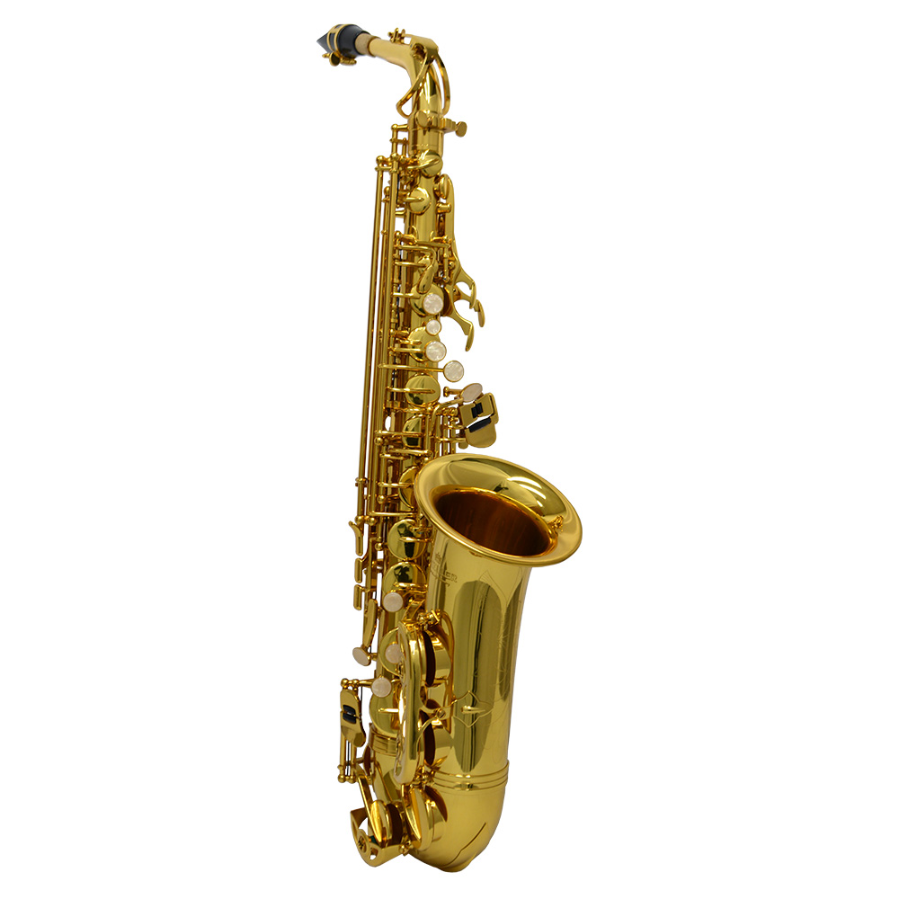 American Heritage 400 Alto Saxophone – Gold Lacquer