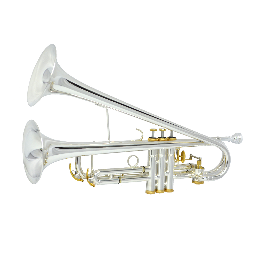 Bandleader Trumpet – Silver & Gold Plated