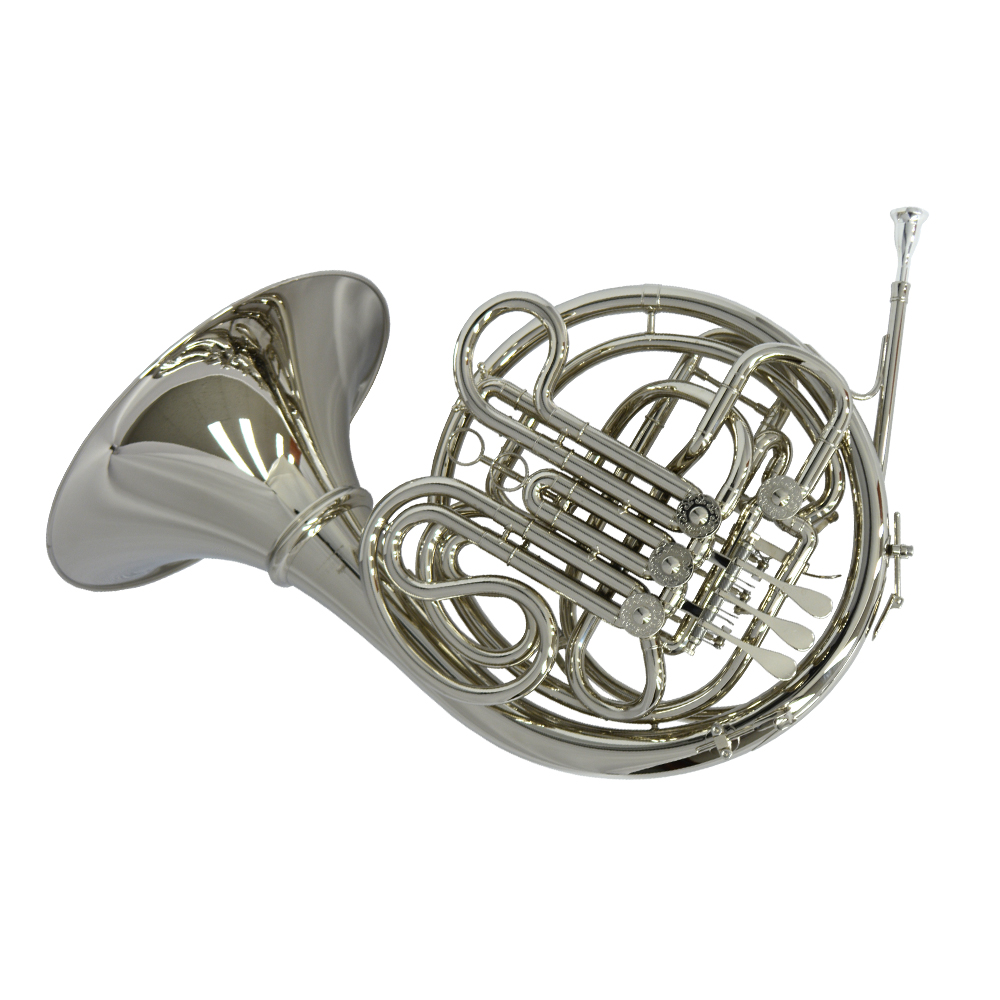 American Elite VI French Horn w/ Detachable Bell – Nickel Plated
