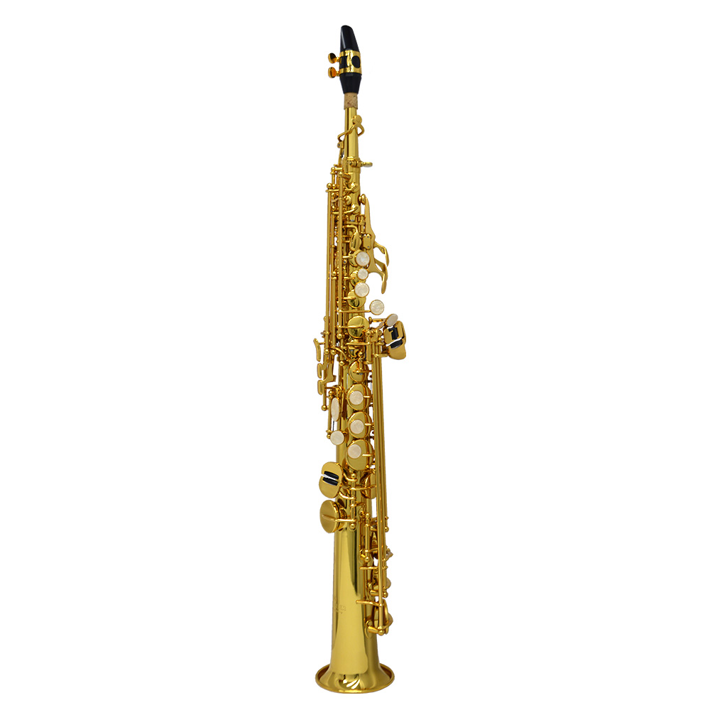 American Heritage 400 Soprano Saxophone – Gold Lacquer