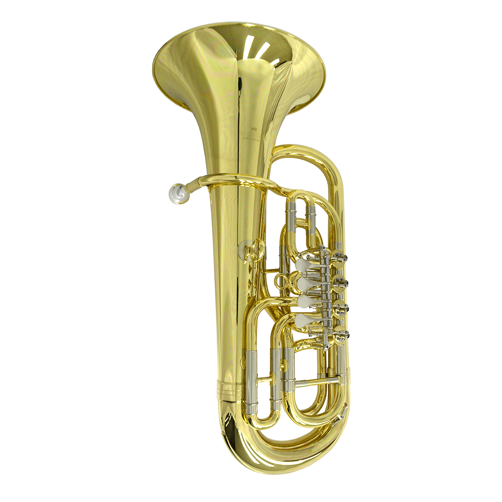 Elite 4 Valve Rotary Euphonium – Gold Plated