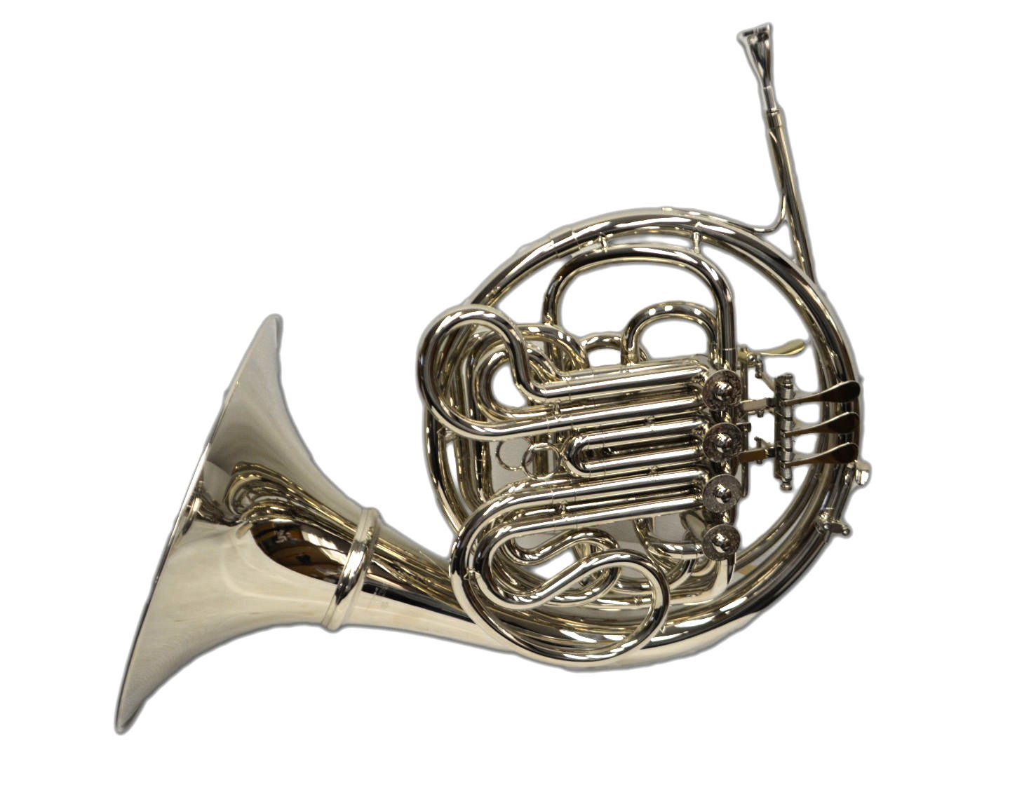 Schiller Elite VI French Horn w/ Detachable Bell - Nickel