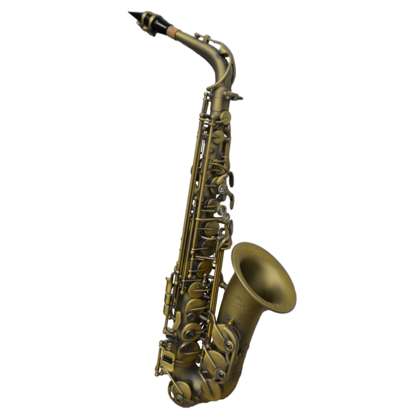 Schiller Elite V Luxus Alto Saxophone - Antique Brass