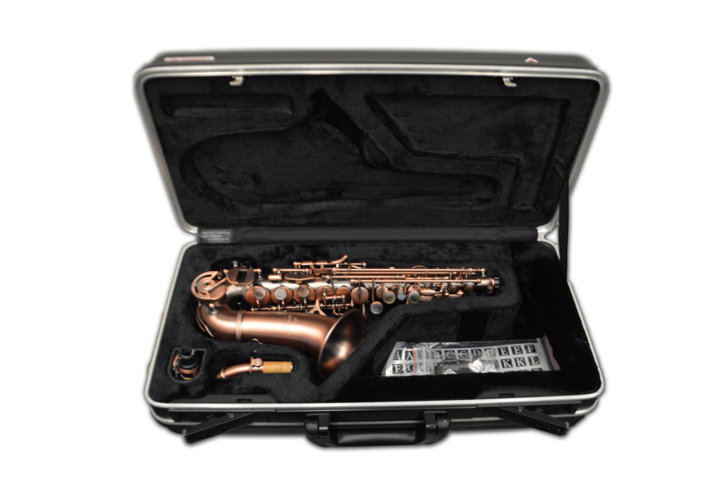 Schiller Elite Luxus IV Soprano Saxophone New York Edition Aged Copper
