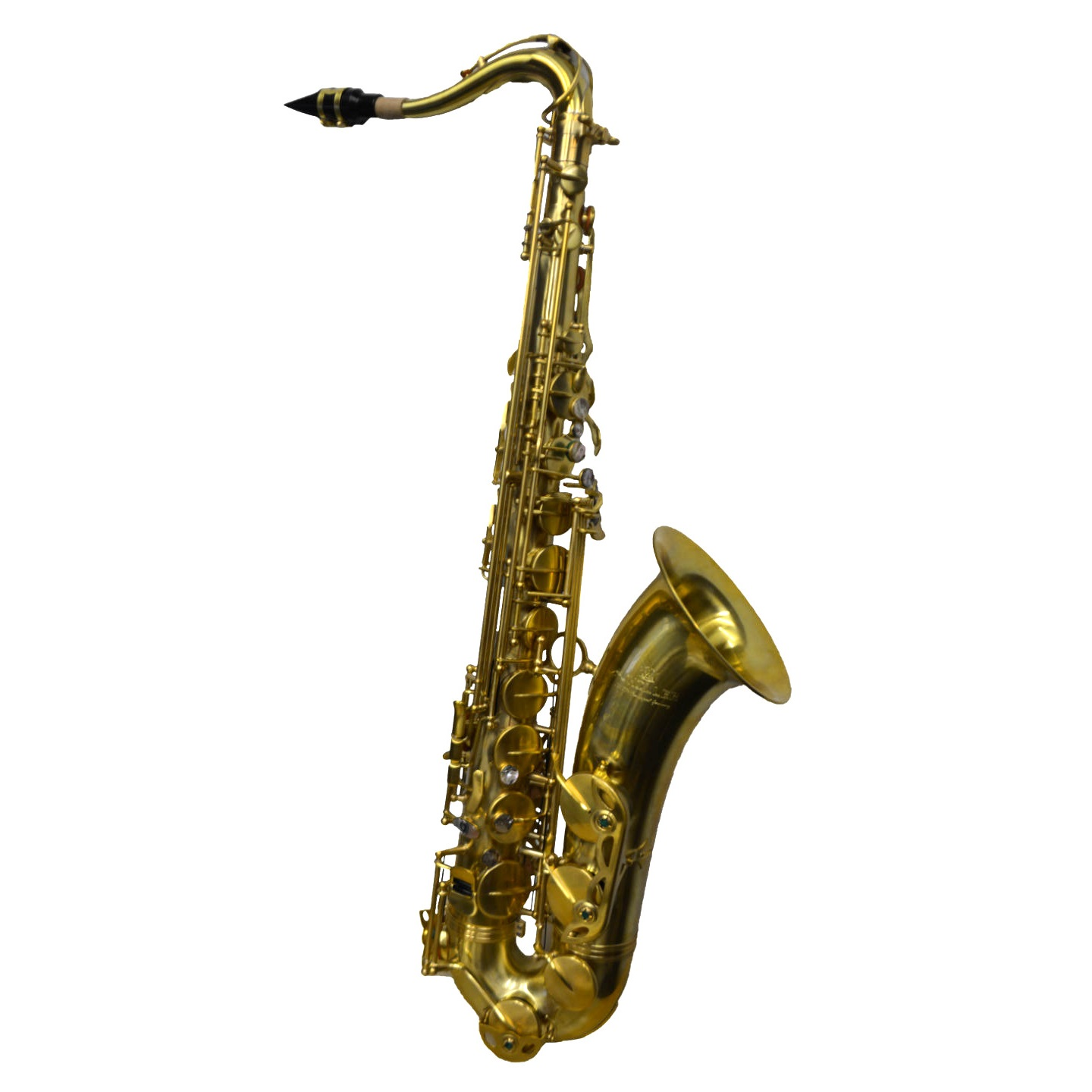 Elite V Pro Artist Tenor Saxophone – Raw Brass