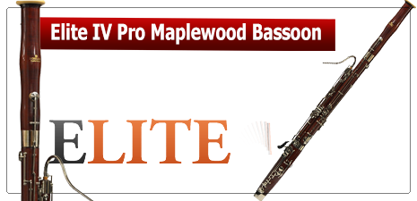 Elite IV Professional Maplewood Bassoon