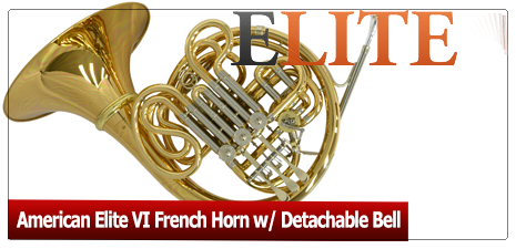 Elite VI French Horn w/ Detachable Bell