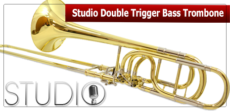 Studio Double Trigger Bass Trombone
