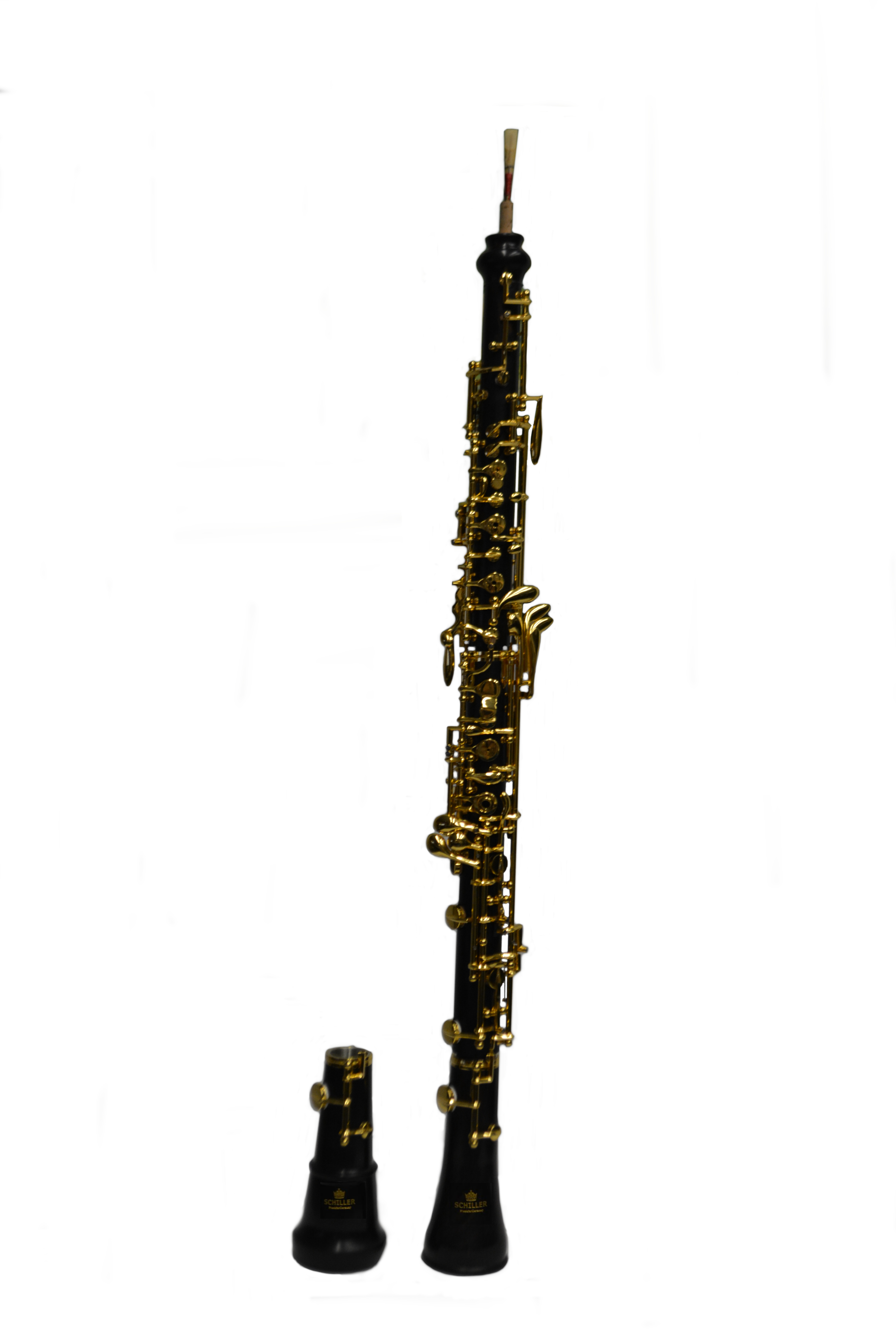 Elite VI Professional Oboe with 2 Bells – Gold