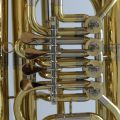 American Heritage 4 Valve Rotary BB Tuba – Gold Laquer