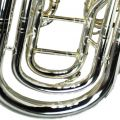 British Band Baritone – Silver Plated with Gold Accents