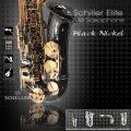 Elite Luxus V Alto Saxophone – Black Nickel & Gold