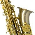 Elite V Alto Saxophone – Brushed Silver Steel Stainless Finish