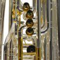 Studio Elite CC Compensating 5 Valve Tuba Silver Plated