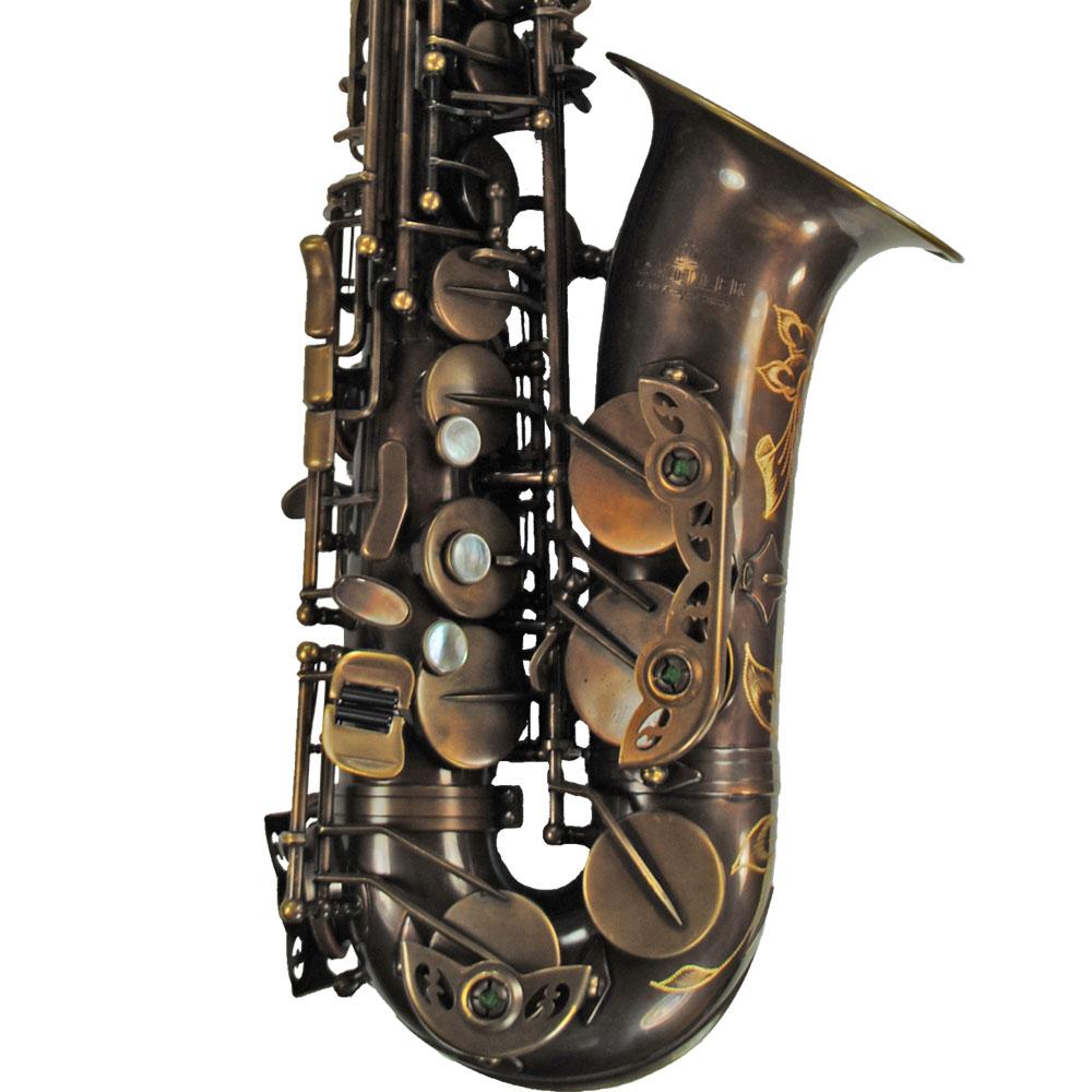 Elite V Alto Saxophone – Vintage Gold