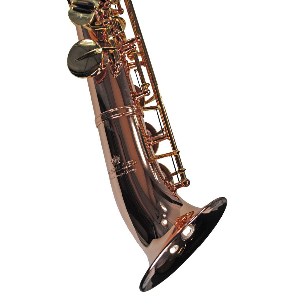 Elite V Semi-Curved Soprano Saxophone – Rose & Gold