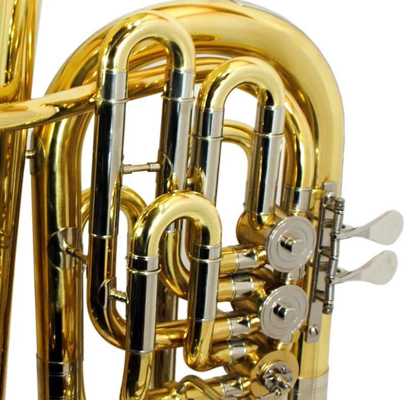 American Heritage 6 Valve Rotary F Tuba – Yellow Brass & Nickel Silver