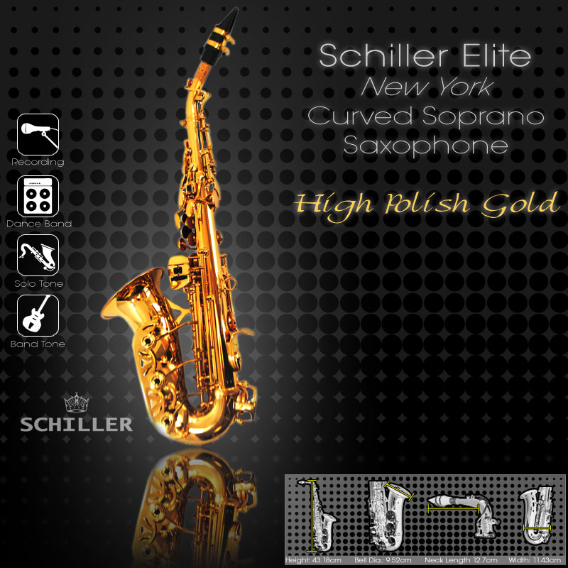 Elite Luxus IV Saxophone New York Edition