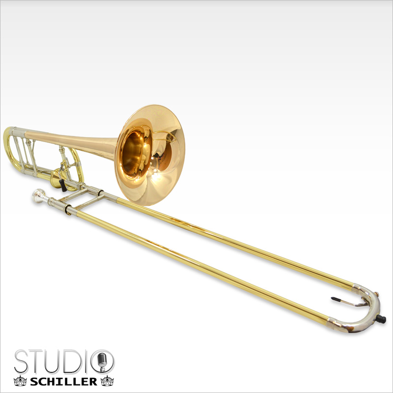 Studio Axial Flow Trombone with Rose Gold Brass Bell