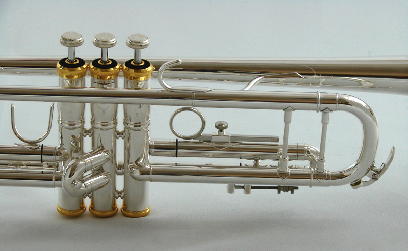 American Heritage Special 78 Trumpet – Silver with Gold Caps – Bb