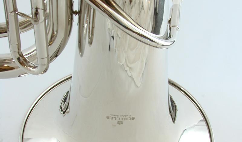 American Heritage 3 Valve BBb Piston Tuba – Nickel