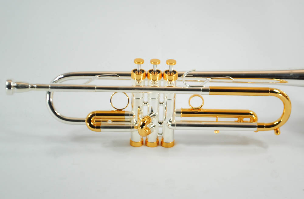 CenterTone Trumpet – Silver & Gold – Bb