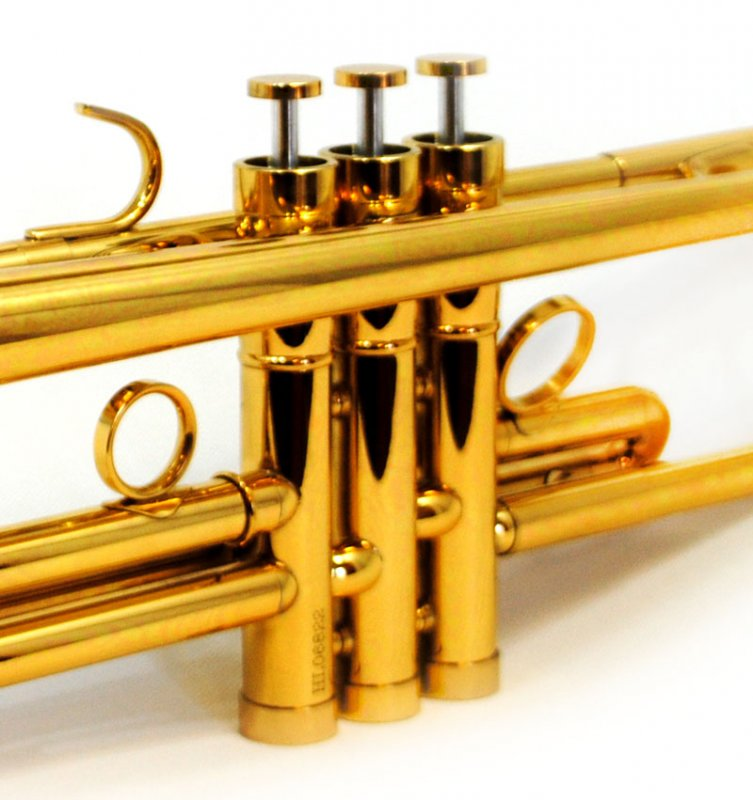 Trumpet Gold lacquer
